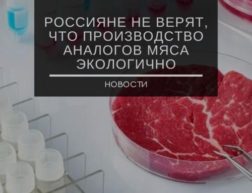 Почти 50% опрошенных россиян не верят, что производство аналогов мяса экологично